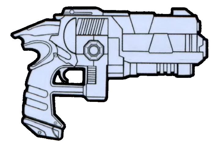 C-10 heavy blaster pistol