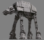 A First Order All Terrain Armored Transport walker