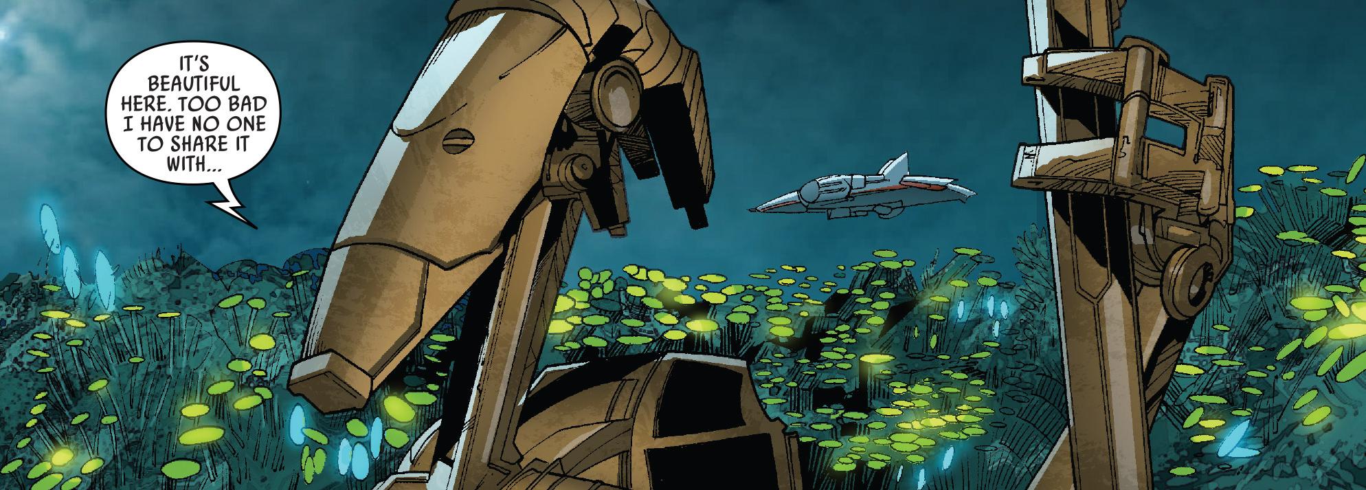 Unidentified B1 battle droid (Hissrich)