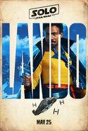 Lando Solo Teaser Poster