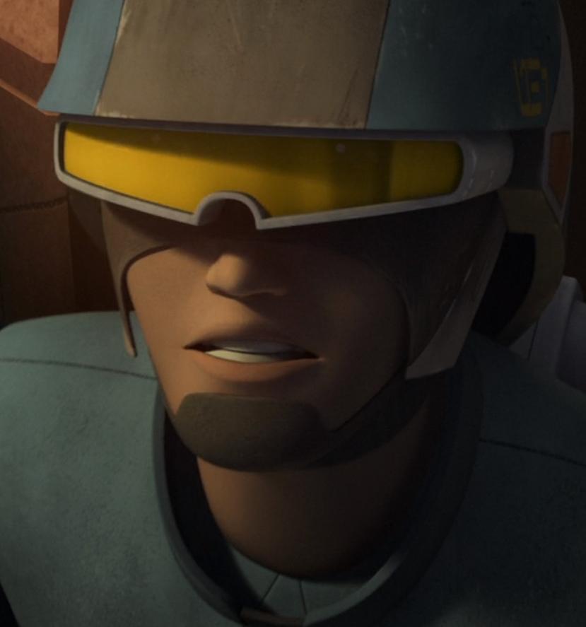 Unidentified rebel trooper (Chopper Base)