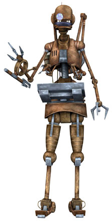 A4 laboratory assistant droid