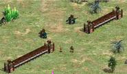 Final base outer walls