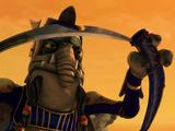 Toydarian ceremonial sword