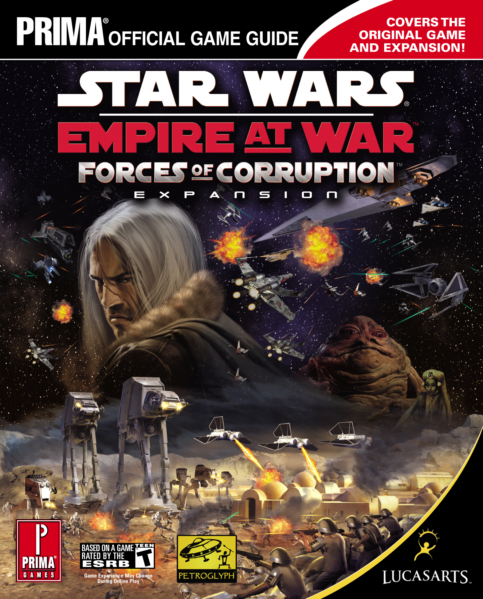 Star Wars: Empire at War: Forces of Corruption Expansion: Prima Official Game Guide