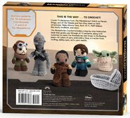 Star Wars The Mandalorian Crochet back cover