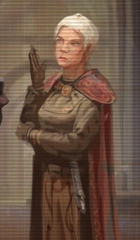 Unidentified elderly Jedi Master