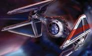 Saber Squadron Pilot TIE Interceptor XWM