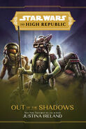 The High Republic Out of the Shadows Walmart edition cover