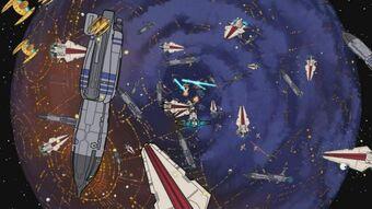 Battle Of Coruscant Wookieepedia Fandom