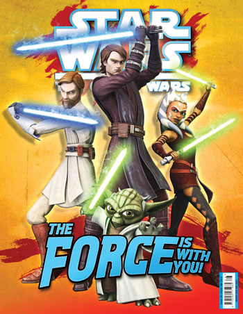 Star Wars: The Clone Wars Comic UK 6.28