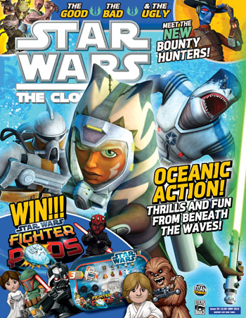 Star Wars: The Clone Wars Comic UK 6.32
