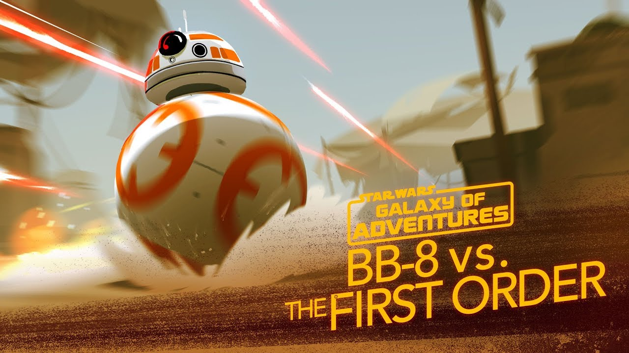 BB-8 - A Hero Rolls Out