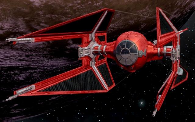 Emperor's Royal Guard TIE/IN starfighter