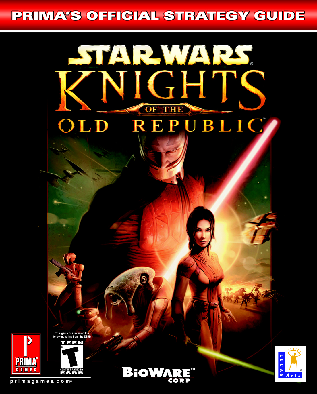 Knights of the Old Republic: Prima's Official Strategy Guide