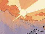 Alderaan's sun