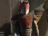 Unidentified Mandalorian super commando captain/Legends