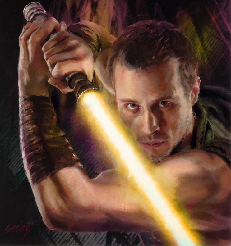 Jaden Korr's third lightsaber