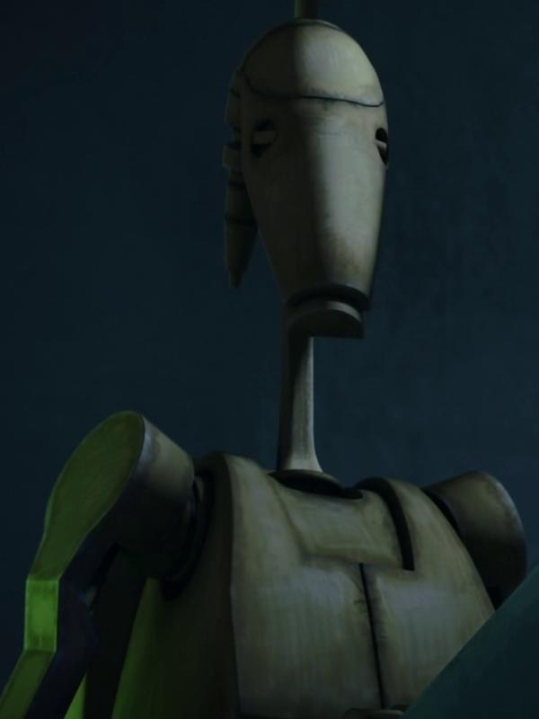 Unidentified B1 battle droid (Cad Bane's frigate)