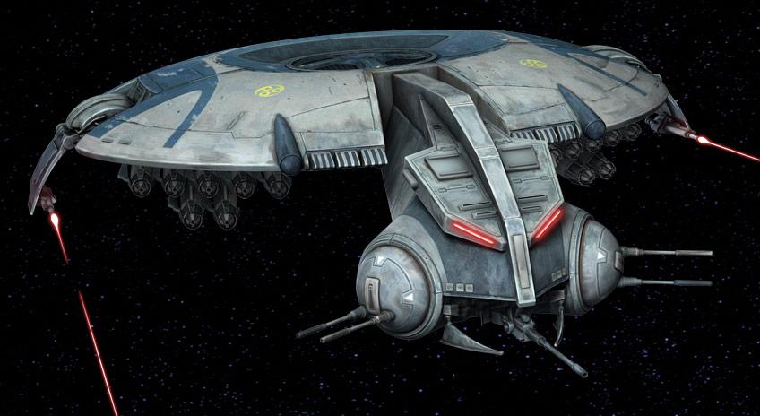 HMP droid gunship/Legends