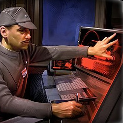 Unidentified Imperial data officer