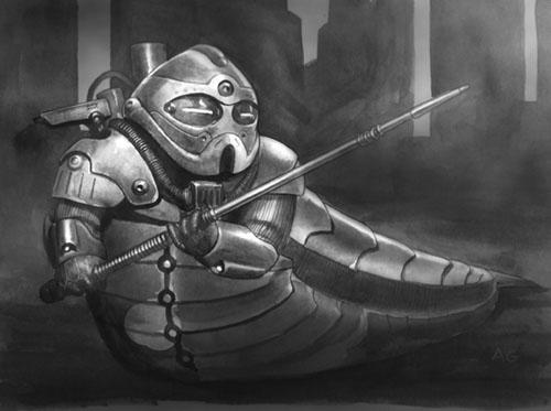 Hutt battle armor