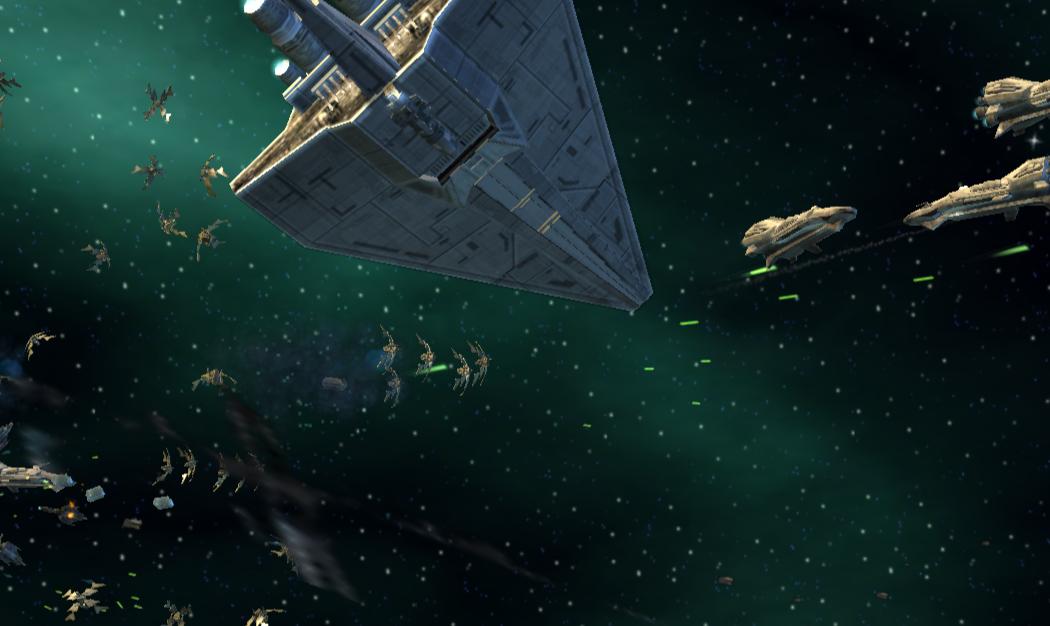 Space Battle at Yavin 4