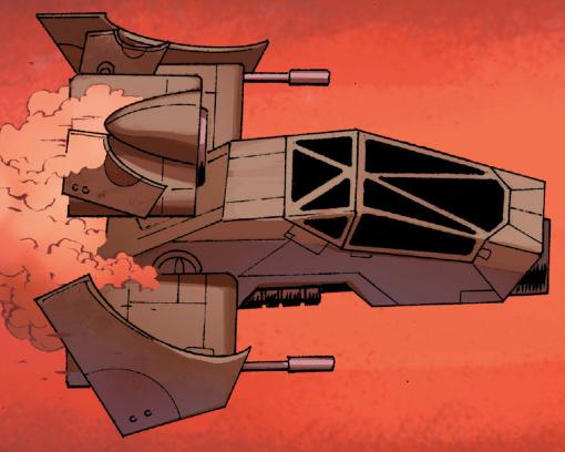 Imperial combat speeder
