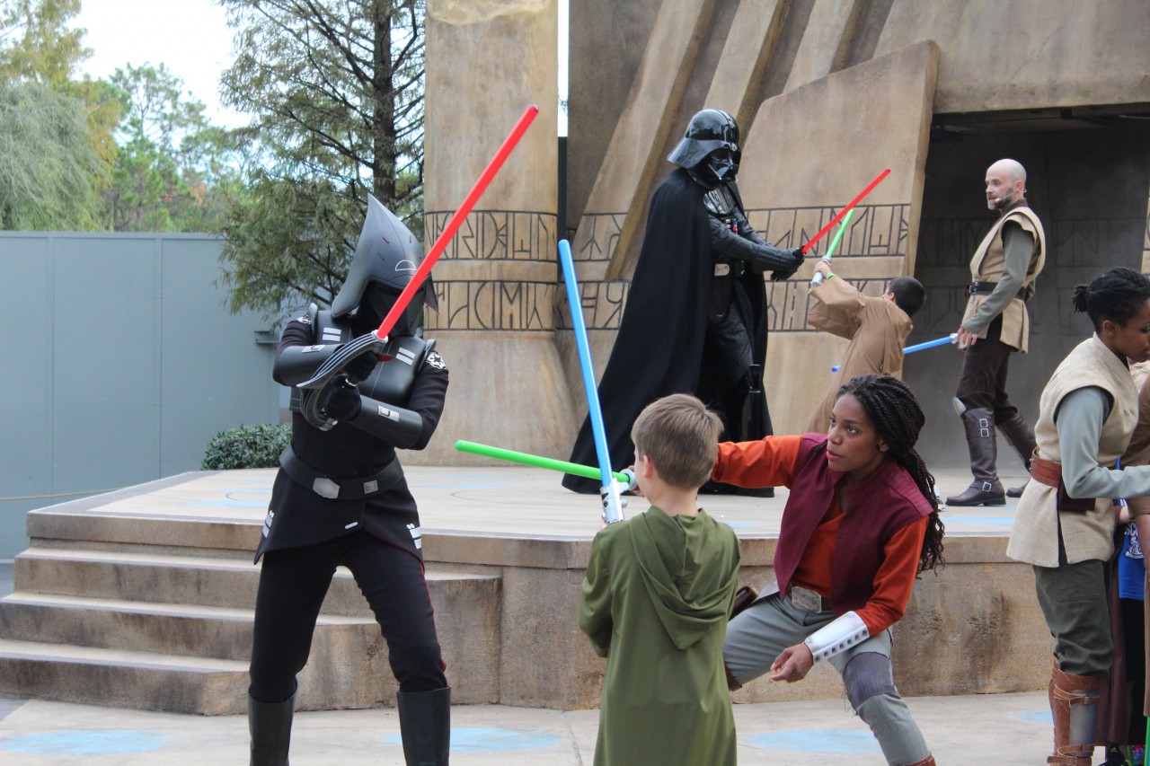 Jedi Training - Trials of the Temple