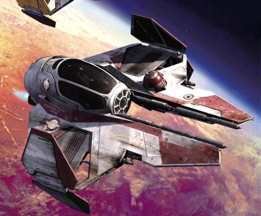 Obi-Wan Kenobi's Eta-2 Actis-class interceptor
