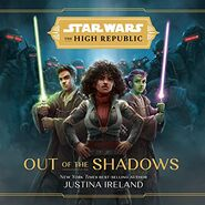 The High Republic Out of the Shadows audiobook cover