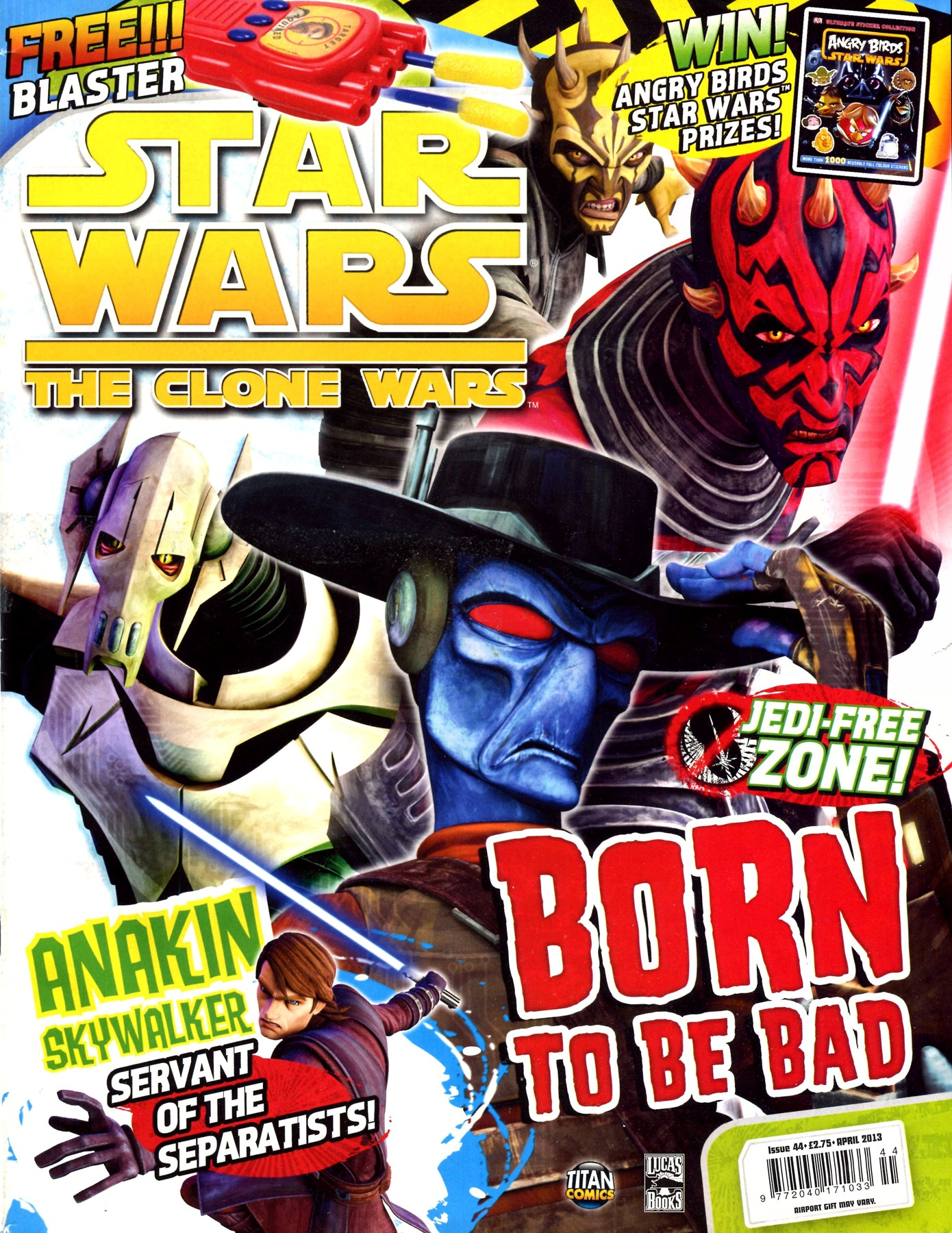 Star Wars: The Clone Wars Comic UK 6.44