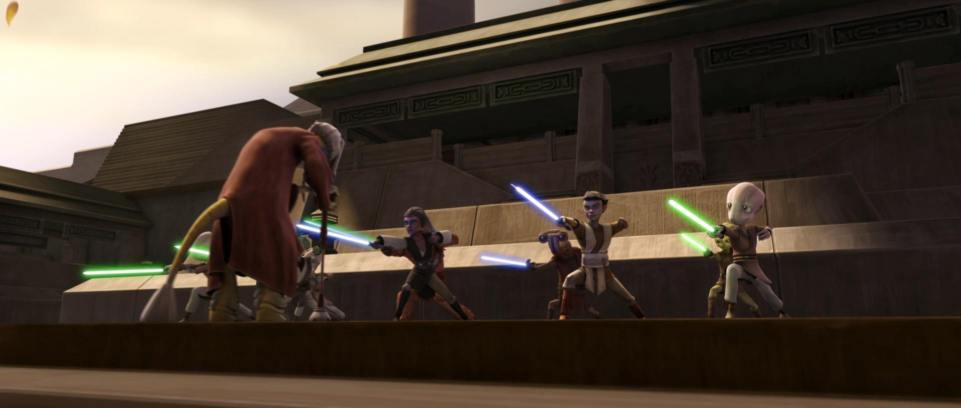 Jedi Temple training ground/Legends
