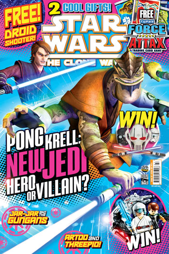 Star Wars: The Clone Wars Comic UK 6.27