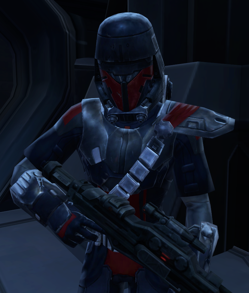 New Imperial soldier
