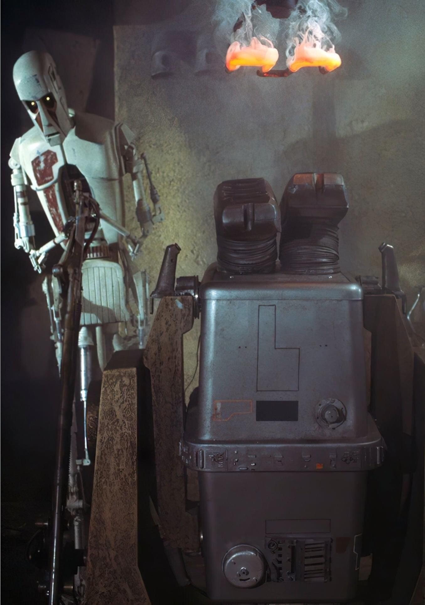 Unidentified EG-6 power droid (Jabba's Palace)