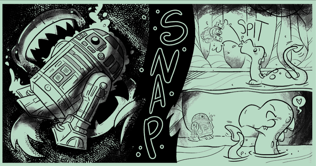 The Dragonsnake Saves R2-D2