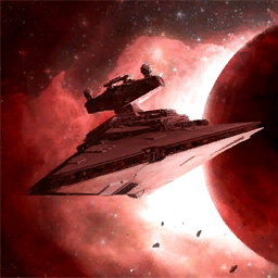Imperial Star Destroyer (painting)