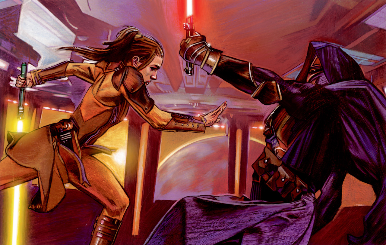 Capture of Darth Revan