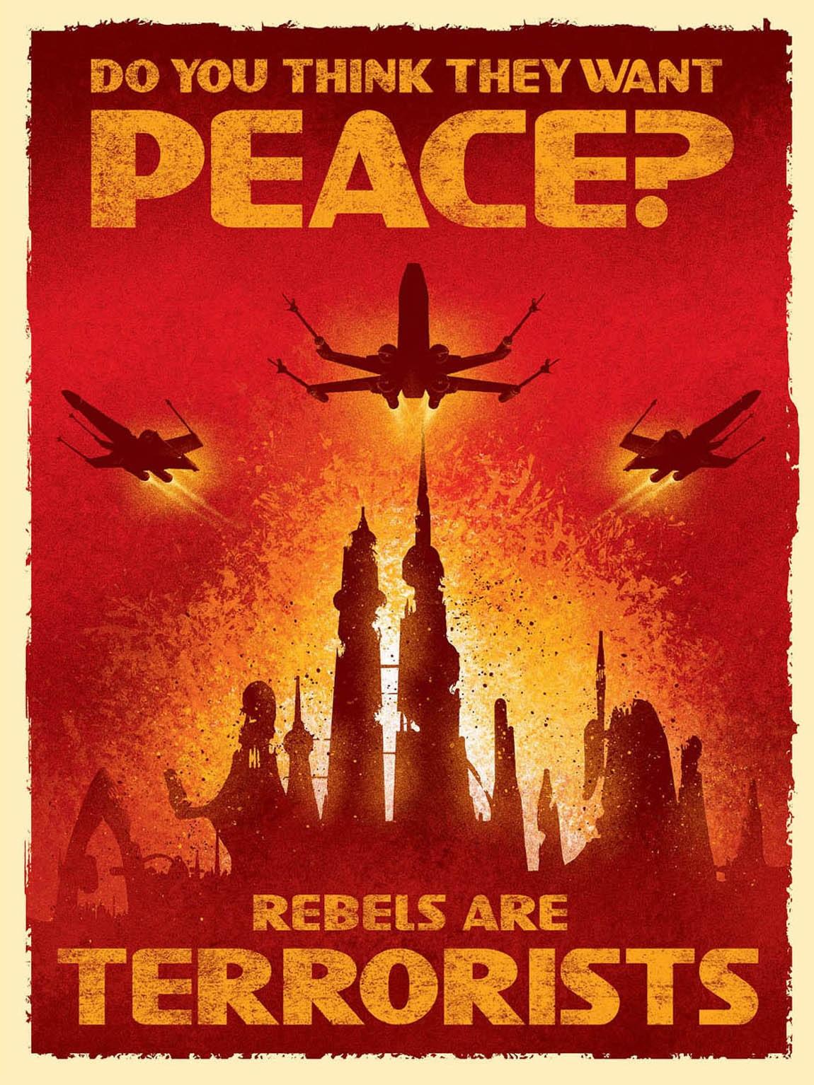 Rebels Are Terrorists