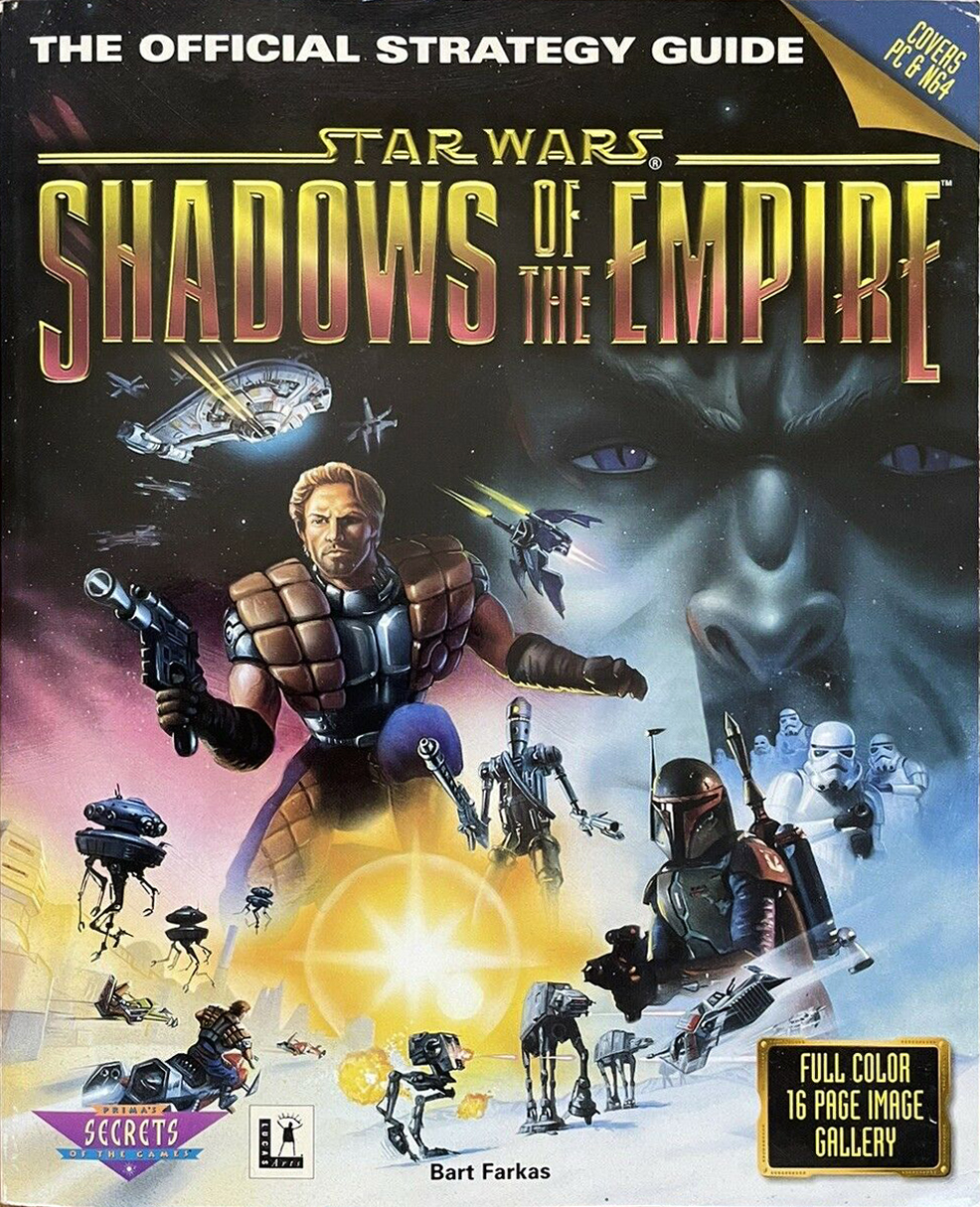 Star Wars: Shadows of the Empire: The Official Strategy Guide