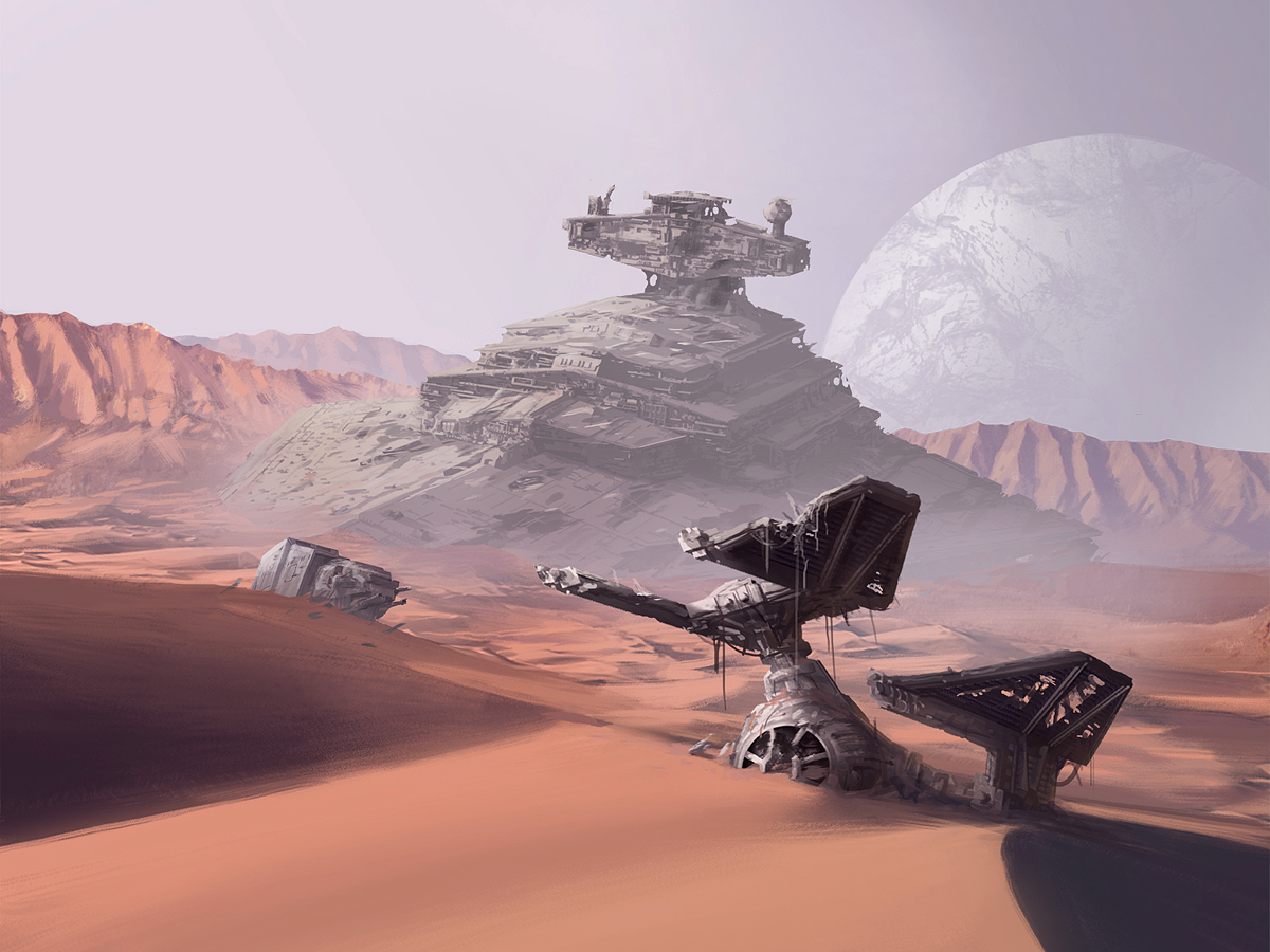 Starship Graveyard