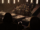 Funeral of the Jedi Temple bombing victims