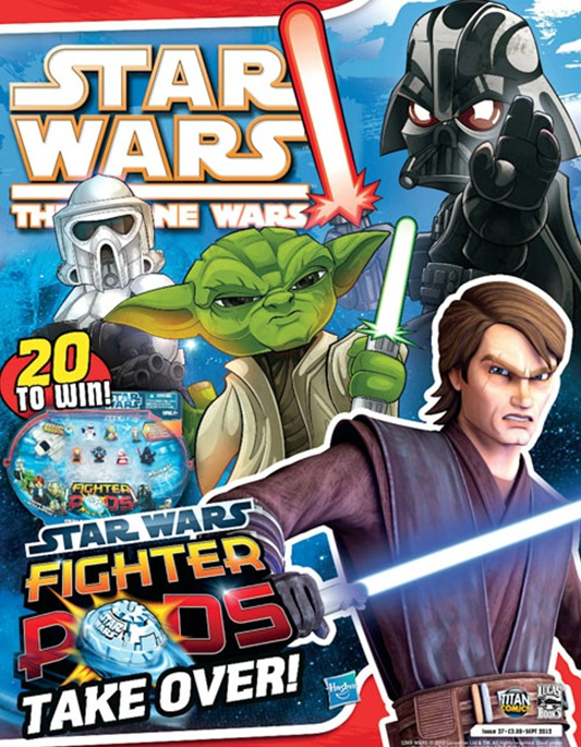 Star Wars: The Clone Wars Comic UK 6.37