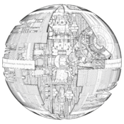 Death Star Schematic FH