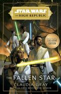 The High Republic The Fallen Star Barnes and Noble Exclusive Edition cover
