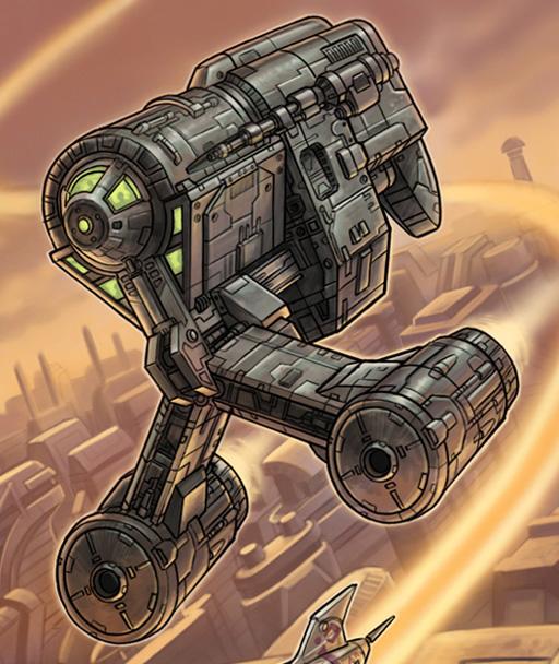 GPE-7300 space transport