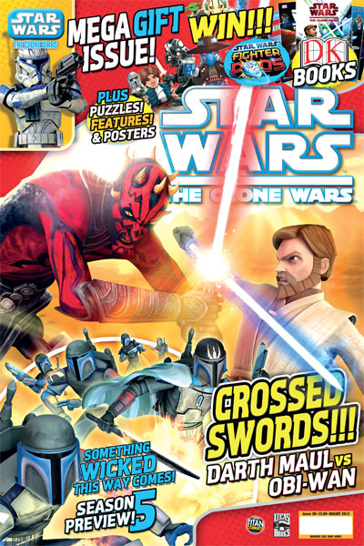 Star Wars: The Clone Wars Comic UK 6.36