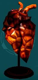 Tanray heart crystal