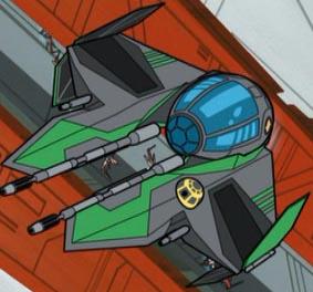 Saesee Tiin's Eta-2 Actis-class interceptor